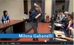 Milena Gabanelli a Scienze della comunicazione