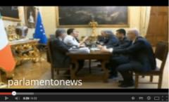 Lo streaming fra Renzi e Grillo